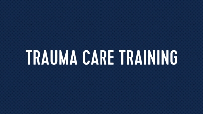 Trauma Care Training Event