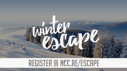 Register Now: NCC Youth Winter Escape Event